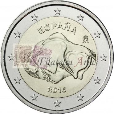 2€ 2015 España - Altamira