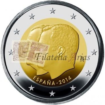 2€ 2014 España - Felipe VI