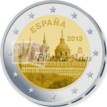 2€ 2013 España - El Escorial