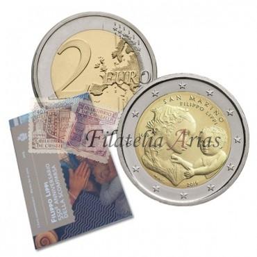 2€ 2019 San Marino - Filippo Lippi