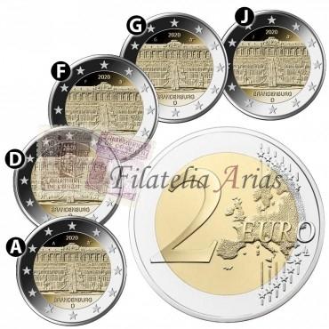 2€ 2020 Alemania - Brandeburgo