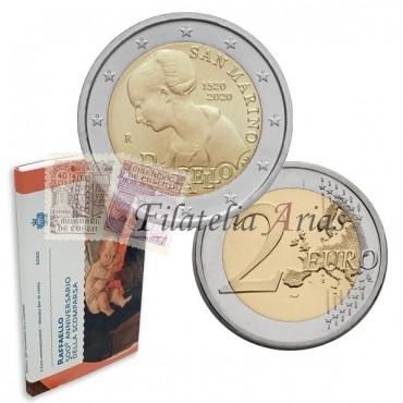 2€ 2020 San Marino - Rafael Sanzio