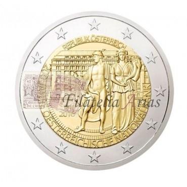2€ 2016 Austria - Banco Nacional de Austria