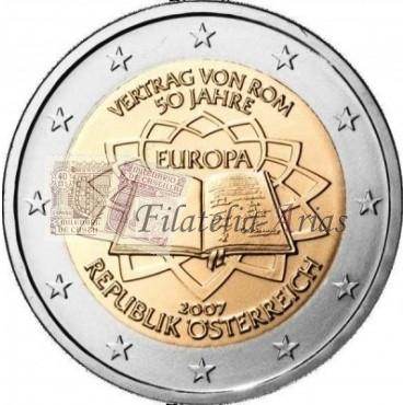 2€ 2007 Austria - Tratado de Roma