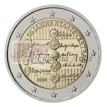 2€ 2005 Austria - Tratado Austria
