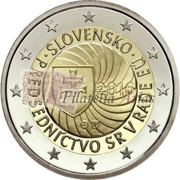 2€ 2016 Eslovaquia - Presidencia Unión Europea