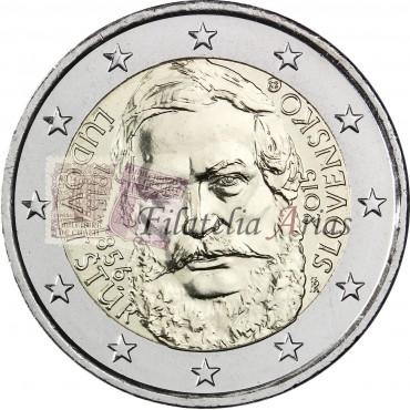 2€ 2015 Eslovaquia - Ľudovít Štúr