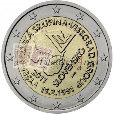 2€ 2011 Eslovaquia - Visegrado