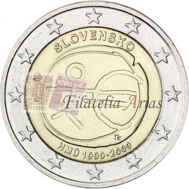 2€ 2009 Eslovaquia - EMU