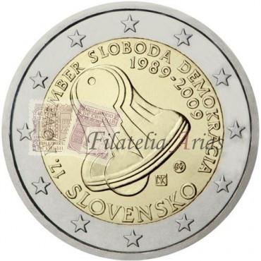 2€ 2009 Eslovaquia - 17 de noviembre de 1989