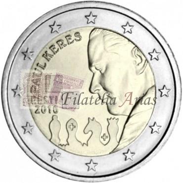 2€ 2016 Estonia - Paul Keres