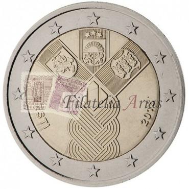 2€ 2018 Estonia - Estados bálticos independientes