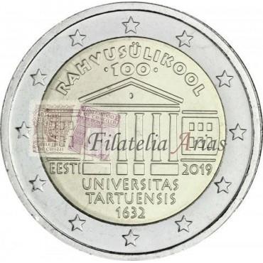 2€ 2019 Estonia - Universidad Tartu