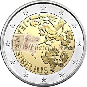 2€ 2015 Finlandia - Jean Sibelius