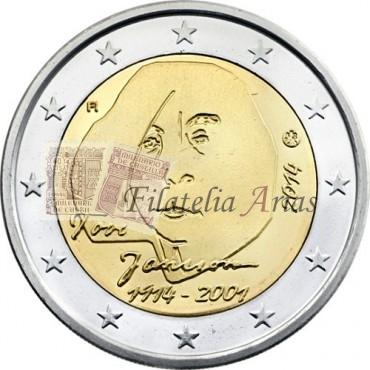 2€ 2014 Finlandia - Tove Jansson