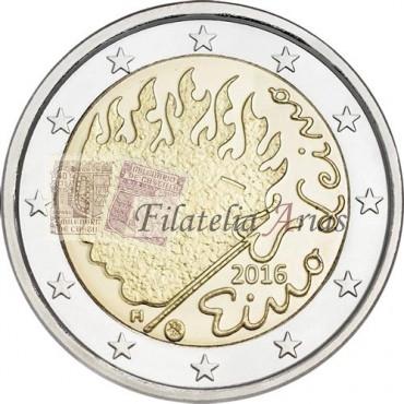 2€ 2016 Finlandia - Eino Leino