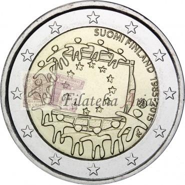 2€ 2015 Finlandia - Bandera europea