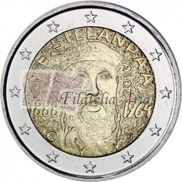 2€ 2013 Finlandia - Frans Emil Sillanpää