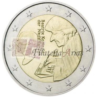 2€ 2011 Holanda - Erasmo de Rotterdam