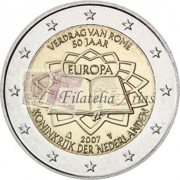 2€ 2007 Holanda - Tratado de Roma