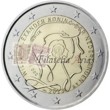 2€ 2013 Holanda - Reino de Holanda