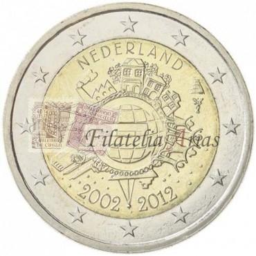 2€ 2012 Holanda - Diez años del Euro