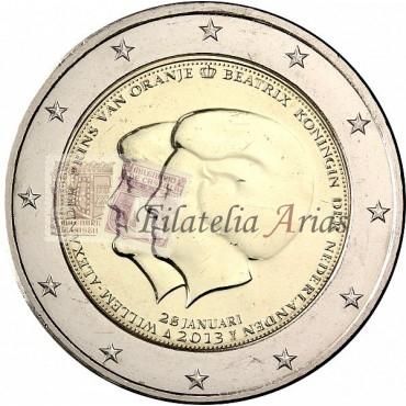 2€ 2013 Holanda - Cambio de trono
