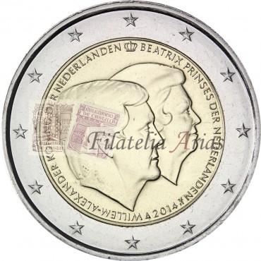 2€ 2014 Holanda - Doble retrato