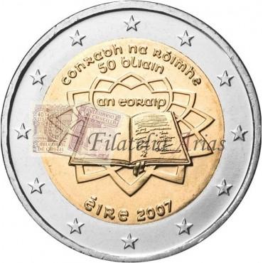 2€ 2007 Irlanda - Tratado de Roma