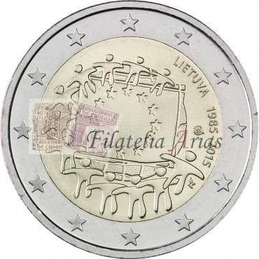 2€ 2017 Lituania - Vilna
