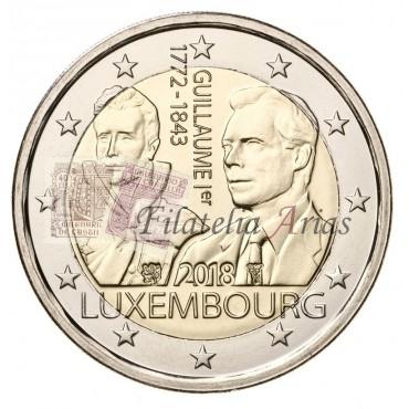 2€ 2018 Luxemburgo - Gran Duque