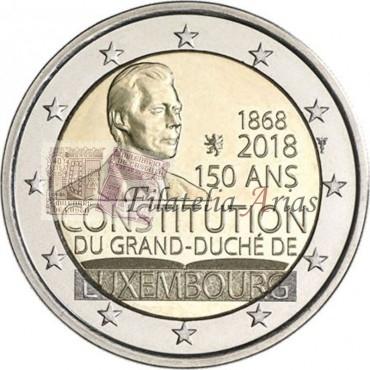2€ 2018 Luxemburgo - Constitución