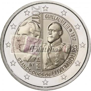 2€ 2017 Luxemburgo - Gran Duque Guillermo III