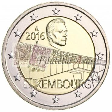 2€ 2016 Luxemburgo - Puente de la Gran Duquesa Carlota