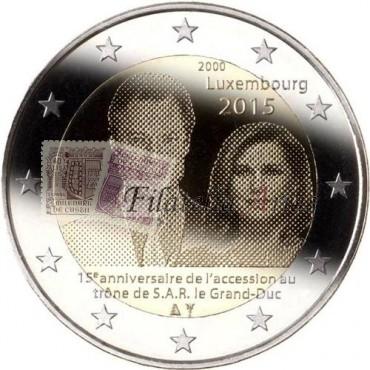 2€ 2015 Luxemburgo - Gran duque Enrique