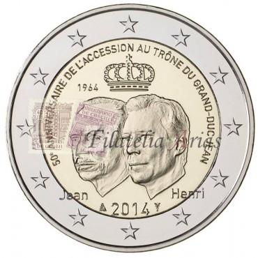 2€ 2014 Luxemburgo - Grand duque Jean