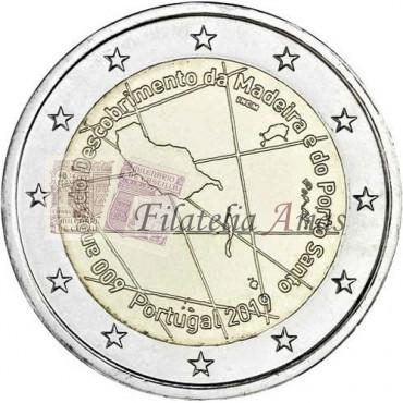2€ 2019 Portugal - Madeira