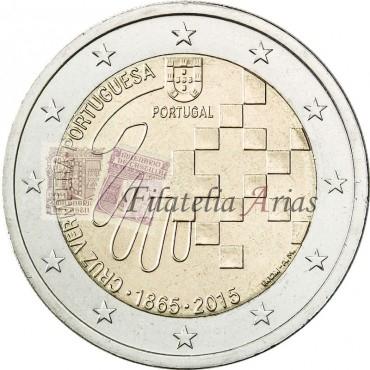 2€ 2015 Portugal - Cruz Roja