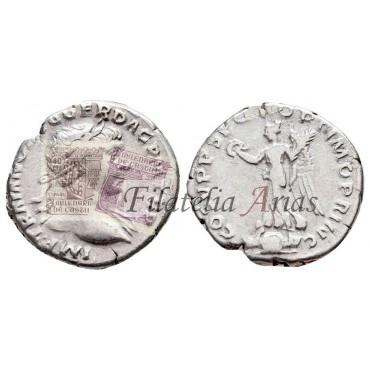 Adriano. Denario (134-138 d.C.)