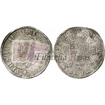 Felipe II. 1 escudo. Nimega. 1558