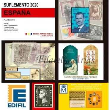 Suplemento Edifil 2020 - Completo