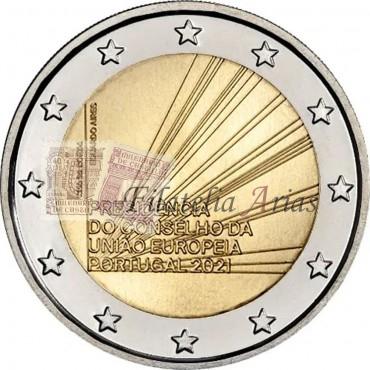 2€ 2021 Portugal - Presidencia UE