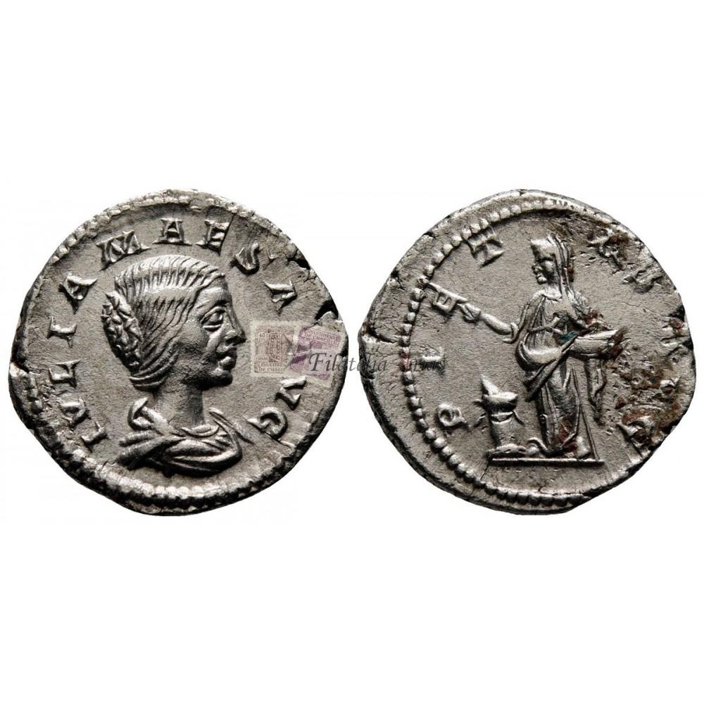 Fonteia. Denario (114-113 a.C.)