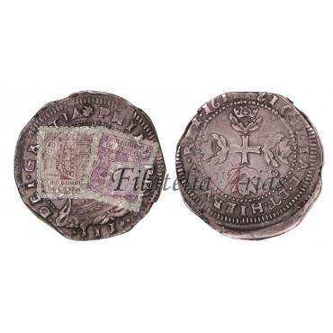 Felipe III. 1/2 escudo. 1611. Messina. IP.