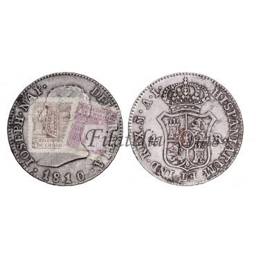 José Napoleón. 20 reales. 1810. Madrid
