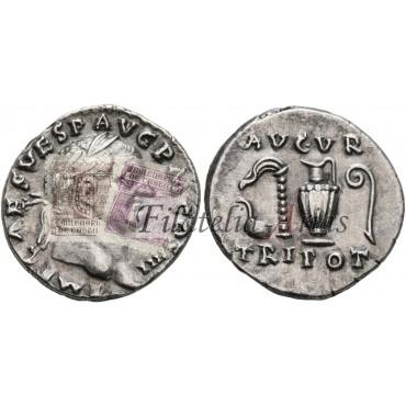 Vespasiano. Denario (72-73 d.C.)