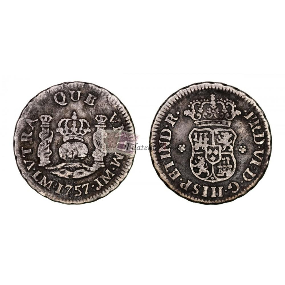Fernando VI. 1755. 8 reales. México.