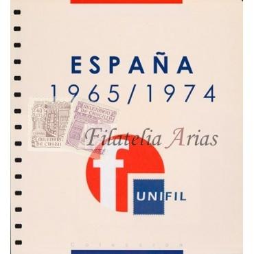 """Suplemento Unifil 1965/74 """"Segundo Centenario - 2ª parte"""" con filoestuches (negro/transparente)"""