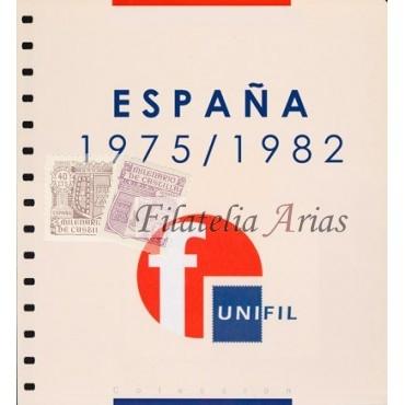 """Suplemento Unifil 1975/82 """"Segundo Centenario - 3ª parte"""" con filoestuches (negro/transparente)"""