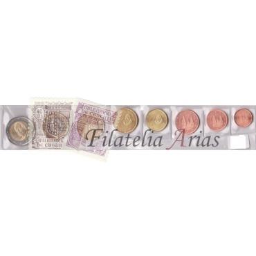 Euros España 2015 - Blister